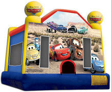 15x15 Cars The Movie Bounce House