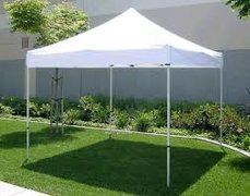 10' x 10' Popup Tent - White Top