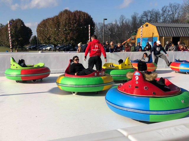 Group Rate Ice Bumper Cars