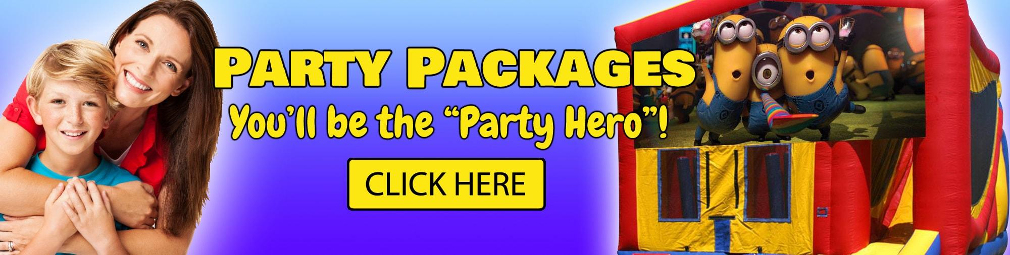 Los Angeles Party Packages