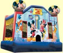 Mickey's Fun Factory Bouncer