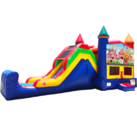 Carnival Bouncer Super combo 5-in-1
