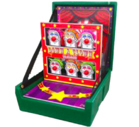 Down-A-Clown Carnival Game