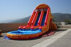 22 ft. FIre & Ice Water Slide