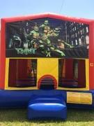 Turtles Bounce House