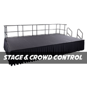 STAGE & CROWD CONTROL