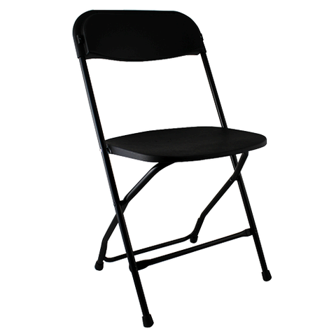 Black Poly Chair