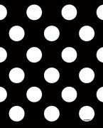 Napkin - Polka Dot Black/White
