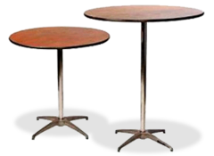 "30"" Cocktail Round Table"