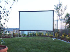"Projector Screen - 135"" Diagonal"