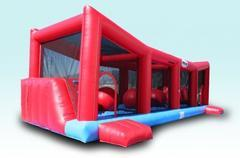 Wipe Out Obstacle Challenge