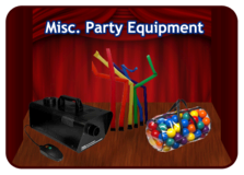 Misc. Party Equipment