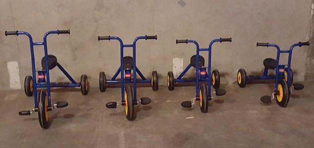 Kids Tricycles Package of 4 Trikes age 2-6