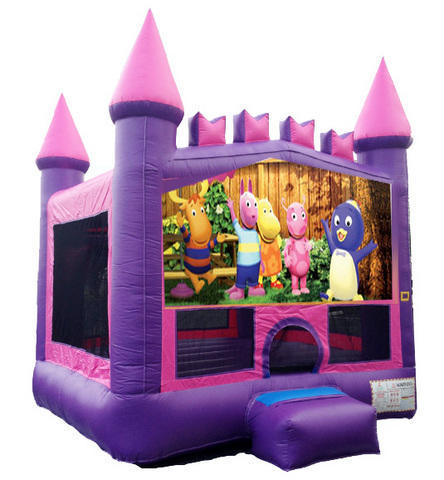 Backyardigans Pink Castle Mod