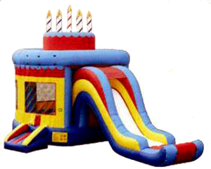 Birthday Cake w/Slide combo