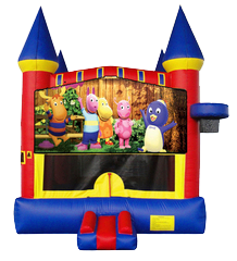 Backyardigans Castle Mod w/ hoop