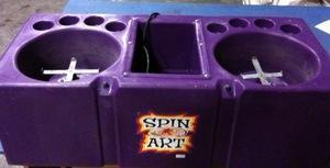 Double Spin Art Machine
