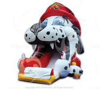 Dalmatian Big Mouth Dog Slide