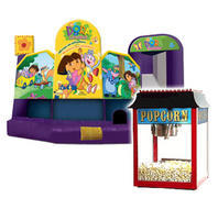 Dora 5 in 1 Fun Pack 3 Popcorn