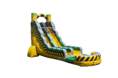 22 foot Toxic water Slide