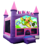 Fun Airplane Ride Pink Mod Castle