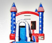 American Jump w/ Slide and Hoop and Water Tub