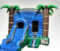 Tropical Blue Crush w/ Slide and Hoop and Water Tub