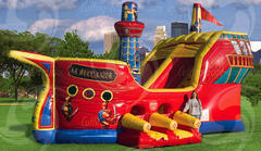 Buccaneer Dry Slide 18ft tall