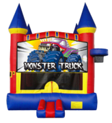 Monster Truck Castle Mod w/ Hoop