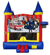 Police and Fire Castle Mod w/ Hoops