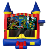 Ninja Turtles Castle Mod w/Hoop