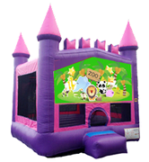 Central Park Zoo Pink Mod Castle