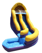 Waterslide18ft Curvy Slide
