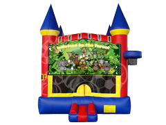 Happy Jungle Family Castle Mod w/ Hoop