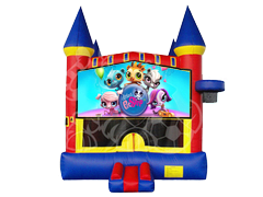 The Littlest Pet Shop Mod Castle w/ Hoop