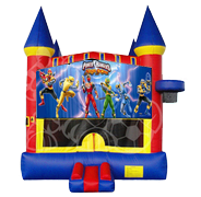 Power Rangers Castle Mod w/ Hoop