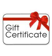 Gift Certificate $400 for $300