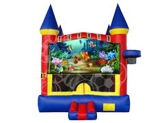 Gold Fish Gallery Castle Mod w/ Hoop