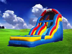 16ft Free Fall Slide - Dry