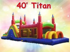 40ft Titan Obstacle Course