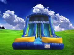 18ft Tidal Wave Dry Slide