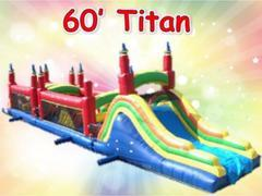 60ft Titan Obstacle Course