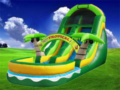 19ft Tropical Waterslide