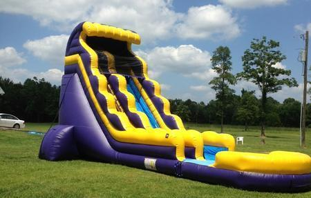 22' Geaux Slide Water Slide