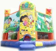 Dora The Explorer Bounce House 15X15