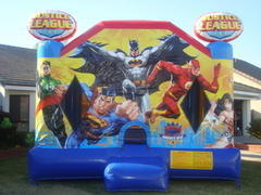 Justice League Bounce House 15X15