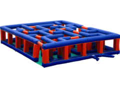Red and Blue Maze