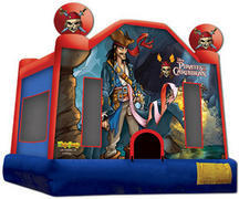 Pirates of the Caribbean Bounce House 15X15