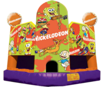 Nick Toons Bounce House 15X15