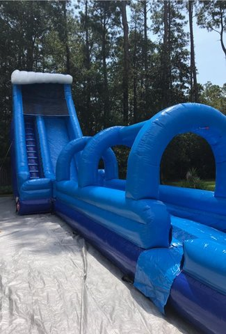 24' Blue Falls Slip N Dip- Package Deals with tables & chairs
